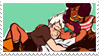 - Stamp: Sour Cream, Jenny and Buck. - by ChicaTH
