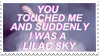- Stamp: You touched me and suddenly... - by ChicaTH
