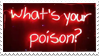 - Stamp: What's your poison? - by ChicaTH