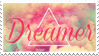 - Stamp: Dreamer. - by ChicaTH