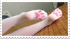 - Stamp: Cat paw tights. - by ChicaTH