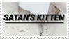 - Stamp: Satan's Kitten. - by ChicaTH