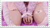 - Stamp: Bandaids and pastel colours. - by ChicaTH