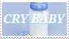 - Stamp: Cry Baby (Milk bottle). - by ChicaTH