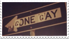 - Stamp: Gone Gay. - by ChicaTH