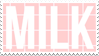- Stamp: MILK. - by ChicaTH