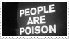 - Stamp: People are poison. - by ChicaTH