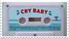 - Stamp: Cry Baby (Cassette). - by ChicaTH