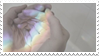 - Stamp: Holding a rainbow. - by ChicaTH
