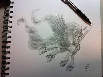 Sketch of Luna by Phlar1245