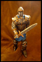 Sculpture - Knight by CanteRvaniA