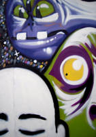 Graffiti - Outer Demons - Detail 2 by CanteRvaniA