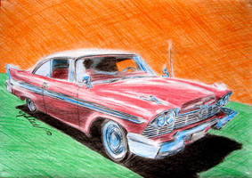 1958 plymouth fury by the-ChooK