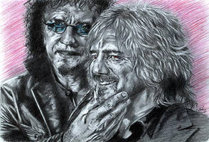 Black Sabbath: Tony n Geezer by the-ChooK