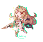 Mythra by ThaIssing