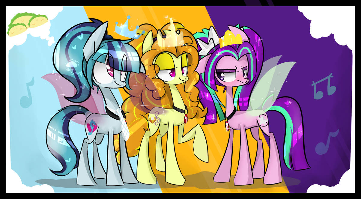 ~The Dazzlings!~ by jankrys00