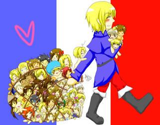 France x Everybody v2 by akithewolf