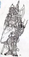 Ka'Shir elite warrior by riard