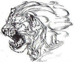 the Holy lion by riard