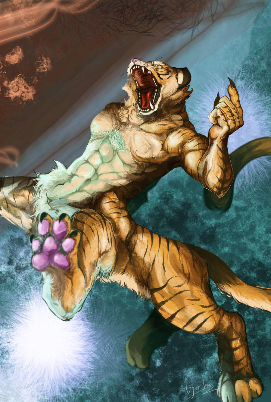 Tiger Taur by riard