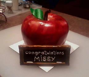 Teacher cake! by Moonlight-Arts