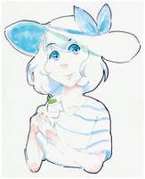 Blue Florist by Chocolate-Wings