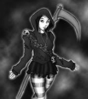 Reaper Girl by CrAze-Kun
