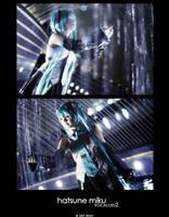 Hatsune Miku : VOCALOID2 by roxwindy