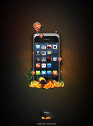 iPhone 3G by PhotoUpDown