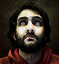 Zombied Self Portrait by jwcoffeeman