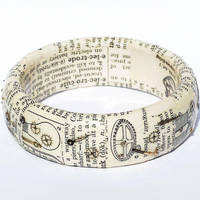 Steampunk Jewelry Dictionary Bracelet by Tanith-Rohe