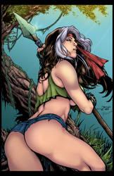 Rogue Savage Land by Rhinovirox