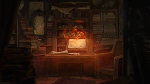 Wizard Room by MissSwarm