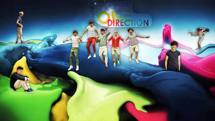 One Direction by magiapotter