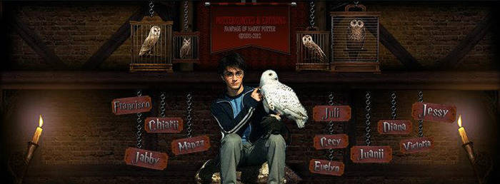 Portada Harry Potter by magiapotter