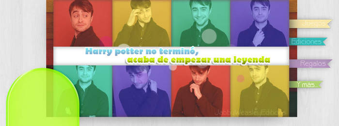 Portada Daniel Radcliffe by magiapotter