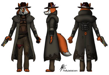 Commission - Fallout Fox by Stitchfan