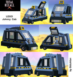 Lego - Johnny Cab (Total Recall) by Stitchfan