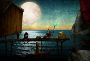 Dock by zoraor
