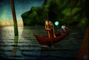Ferryman by zoraor