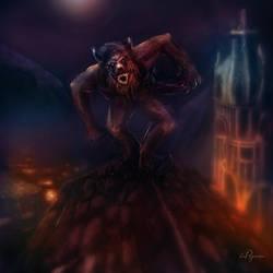 Werewolf 01 by cimmx
