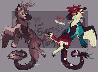 Floragriff Collab Auction [OPEN] by Sweet-n-treat