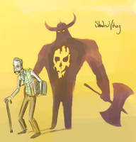 026 - Shadow Viking by DBed