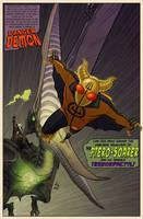 Danger Demon Splash Page by DBed