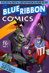 Blue Ribbon Comics No.1 by DBed