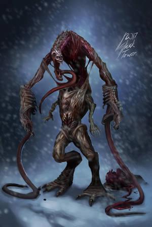 The Thing - Cerberus by Shocktowerarts