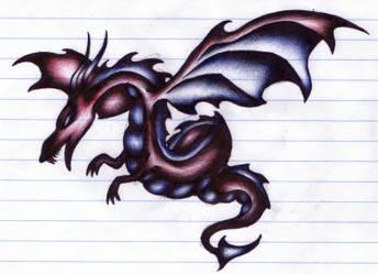 dragon - biro by excalibiro