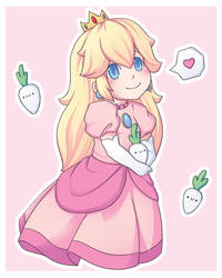 Chibi Peach by Arrupako