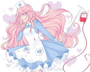 Pastel Nurse by Arrupako