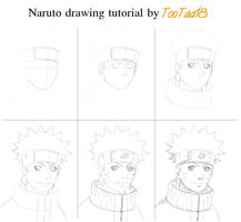 Naruto Drawing Tutorial by tootaa18